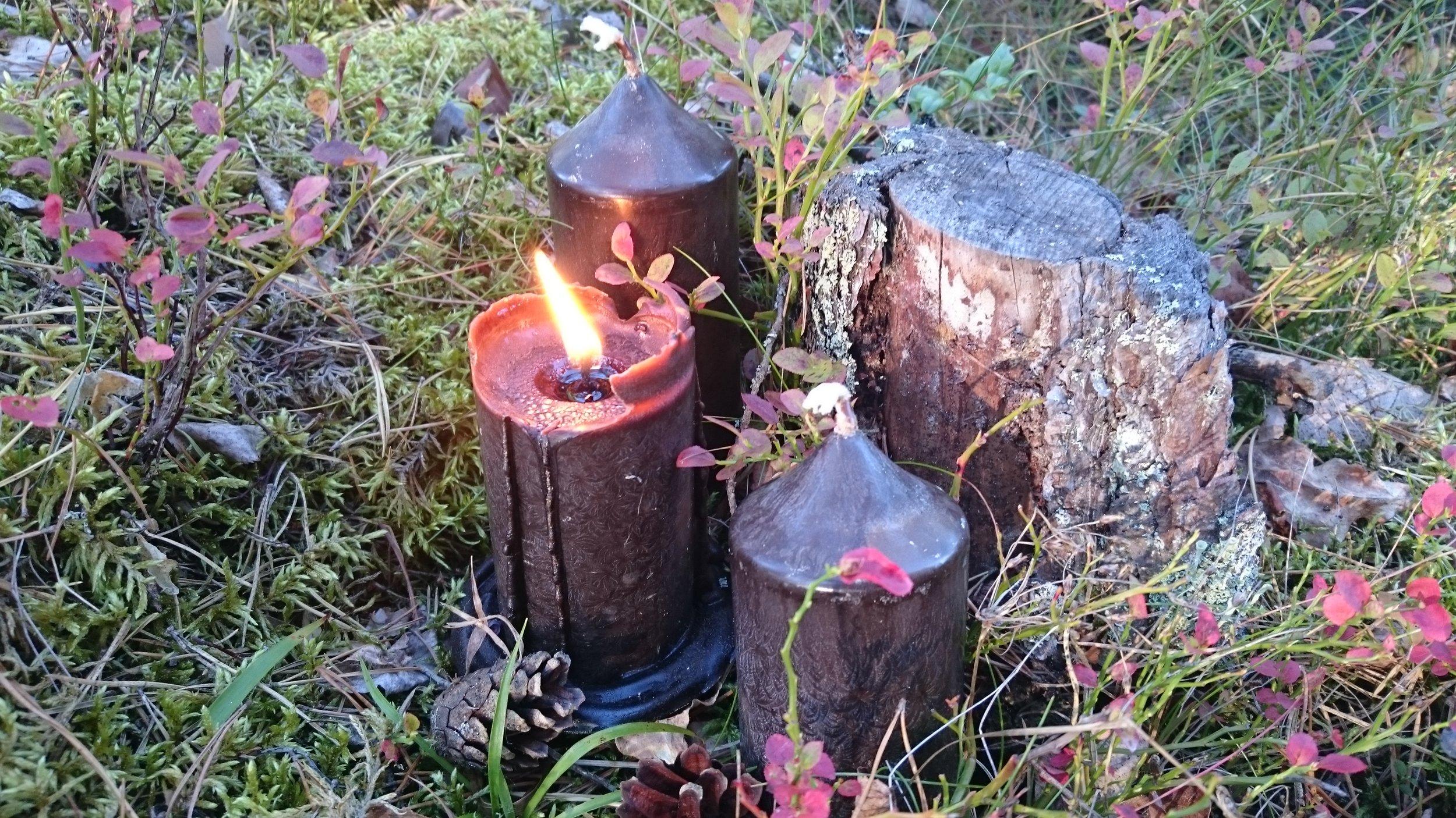 Grävlings Naturprodukter medverkar även i år på Midvinterglöds alternativa julmarknad 10 december i Jättendal.