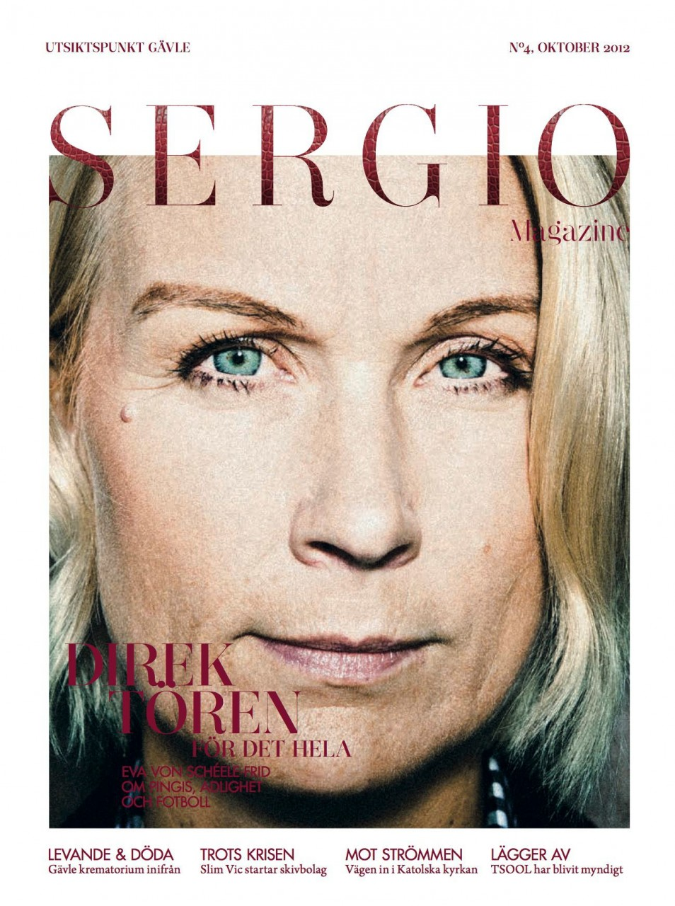 Sergio Magazine Oktober 2012.