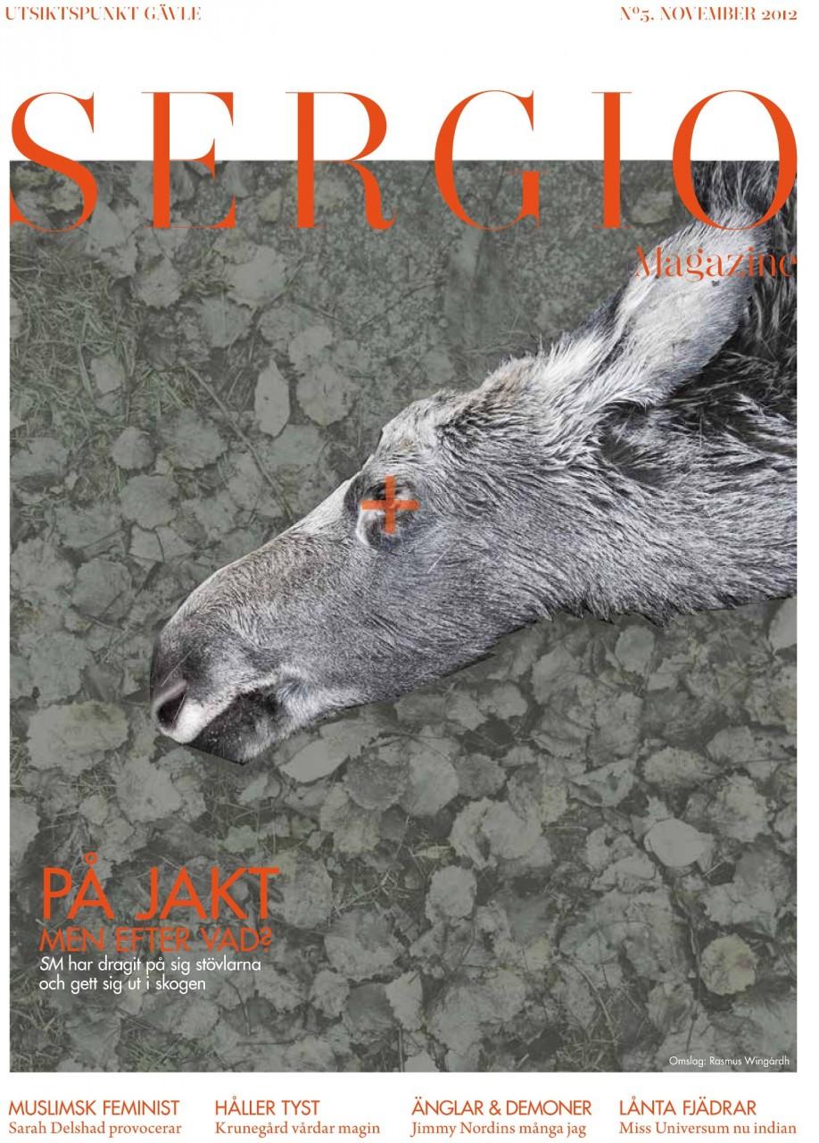 Sergio Magazine November 2012.