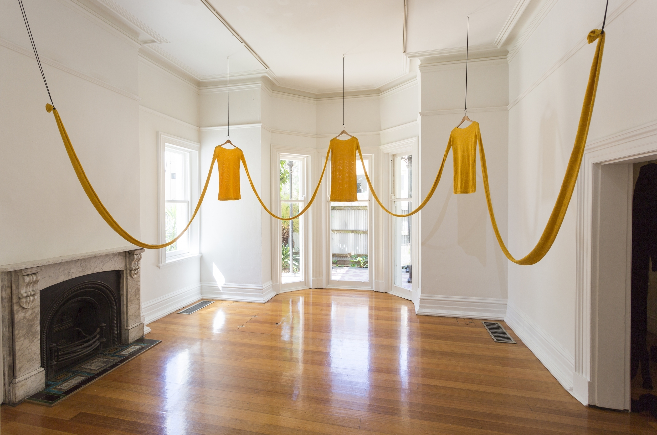 Linden Gallery installation 2016.  Photograph: David Marks
