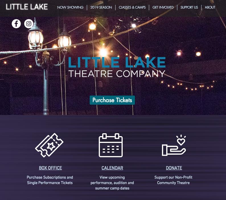 Little Lake Theatre Company - littlelake.orgCreated on Wix