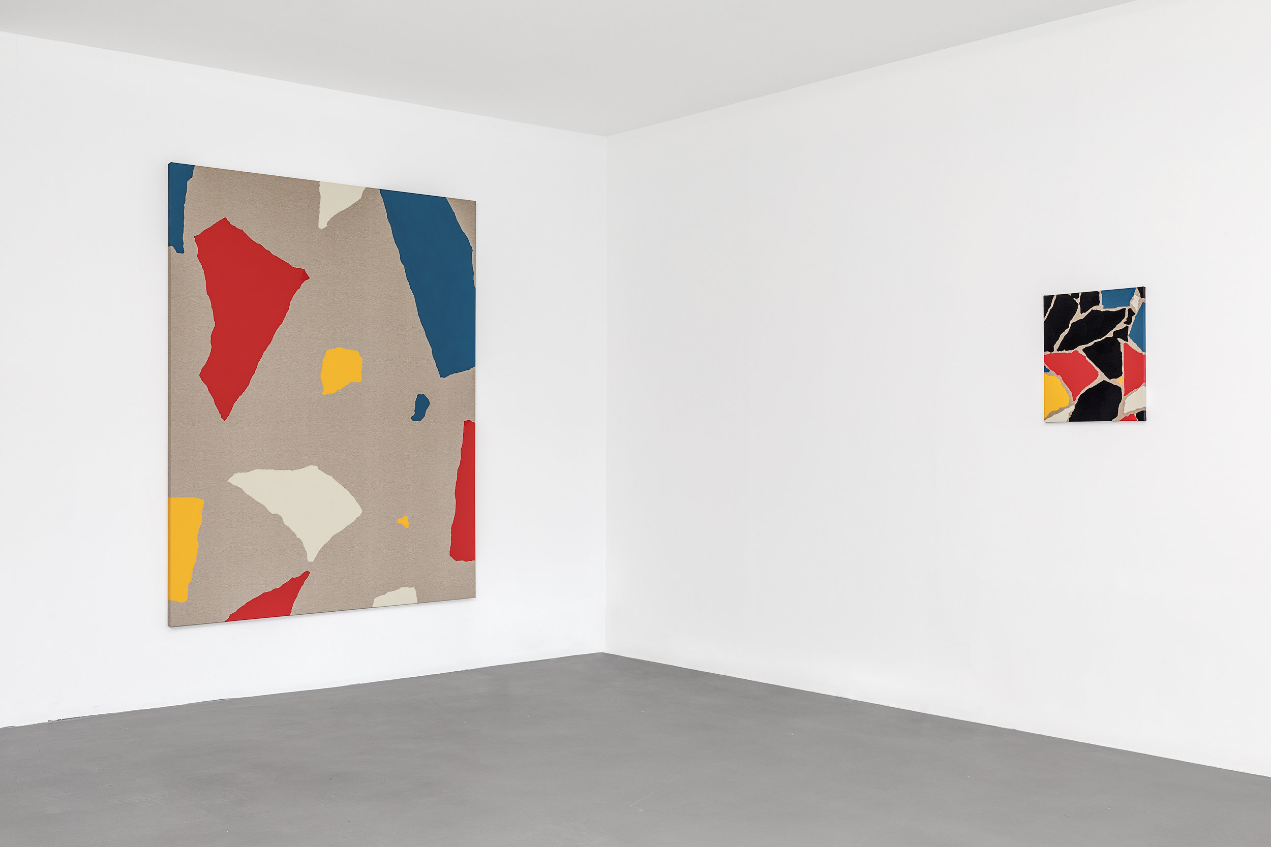 Installation view  Mindlessness , The Dot Project at PRISME, Paris, London.