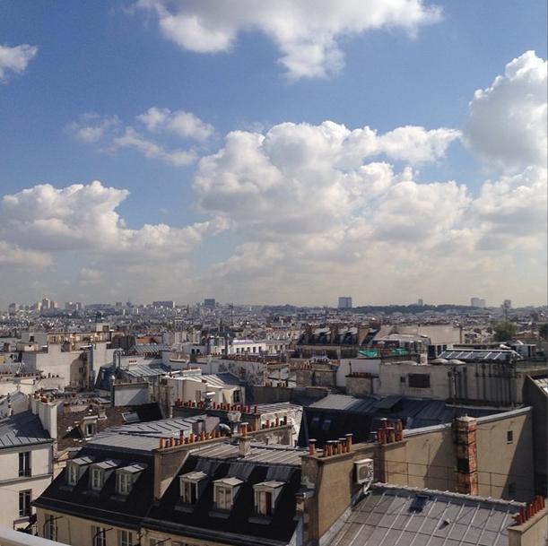 Paris from BHV Perchoir