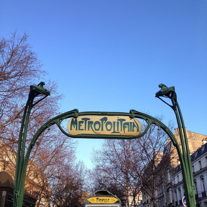 Pigalle Paris Metro