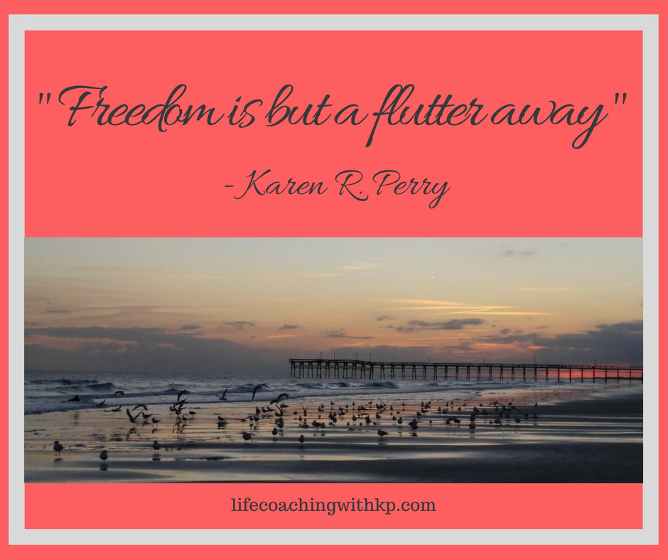 _Freedom is but a flutter away_ - Karen R. Perry.png
