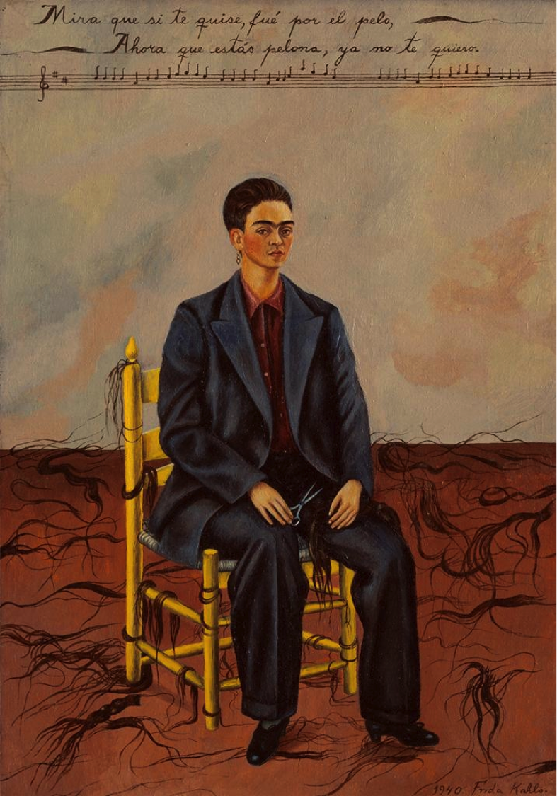 Frida Kahlo. In every shapeshifting painting, she crafts a fuller picture of her complex reality.