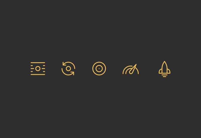 My Golf Spy Icons