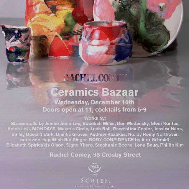 rachel comey ceramics bazaar nyc