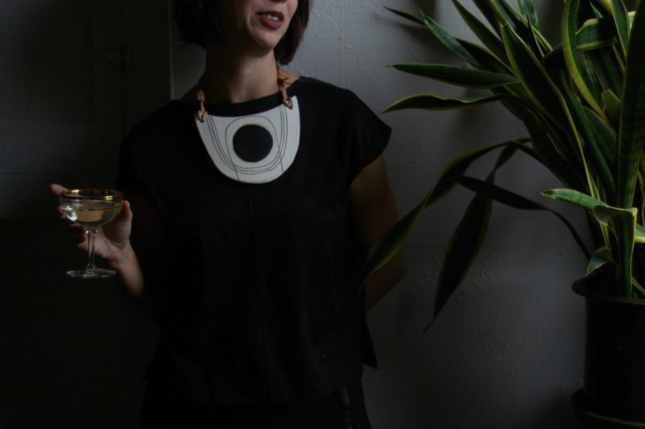 black no. 1  breastplate