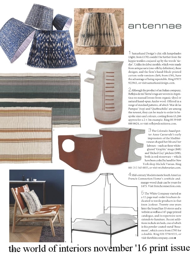 the world of interiors november '16 print issue
