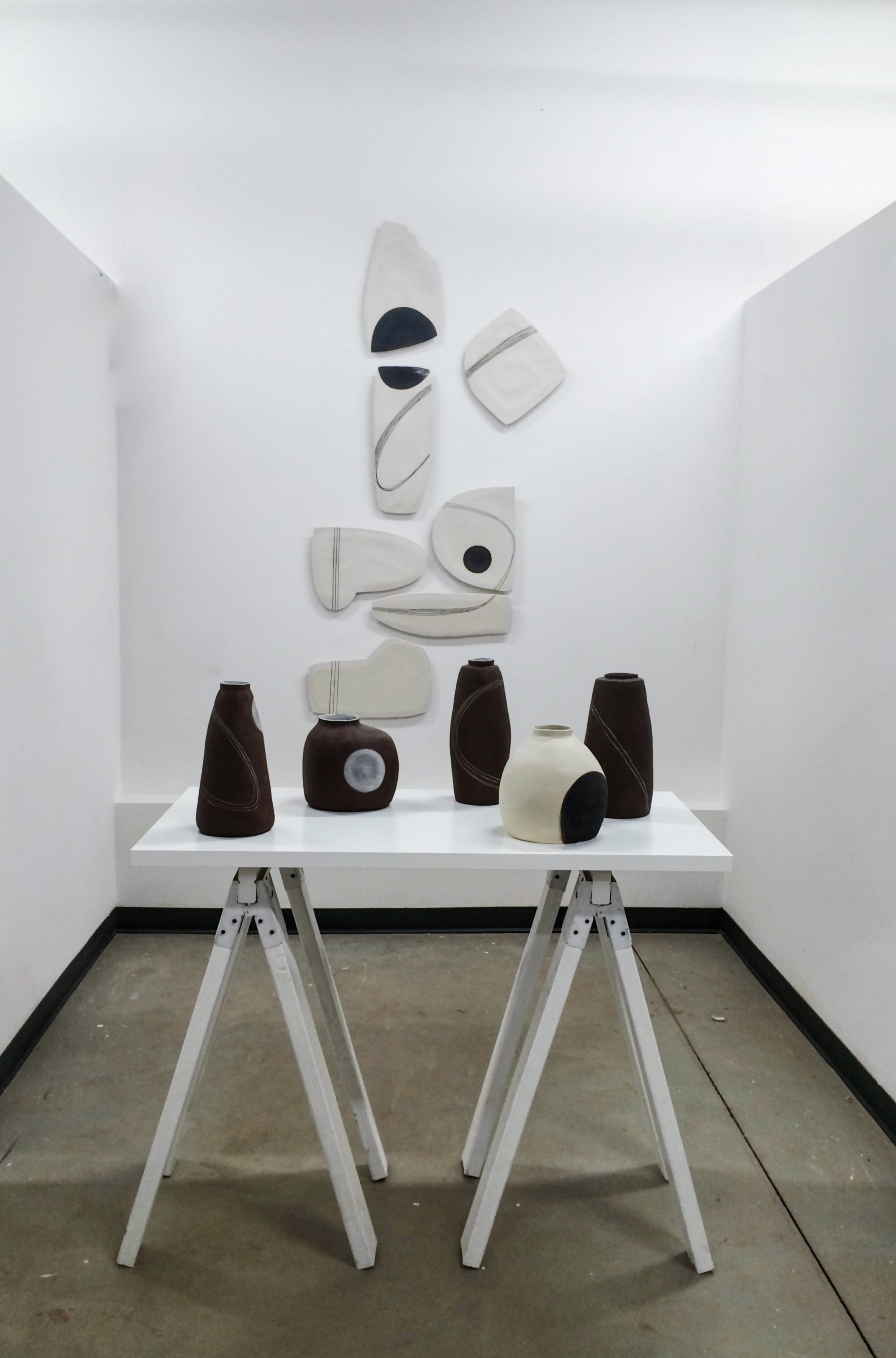 black + white no. 1 installation for ids west 2016, vancouver, british columbia, canada