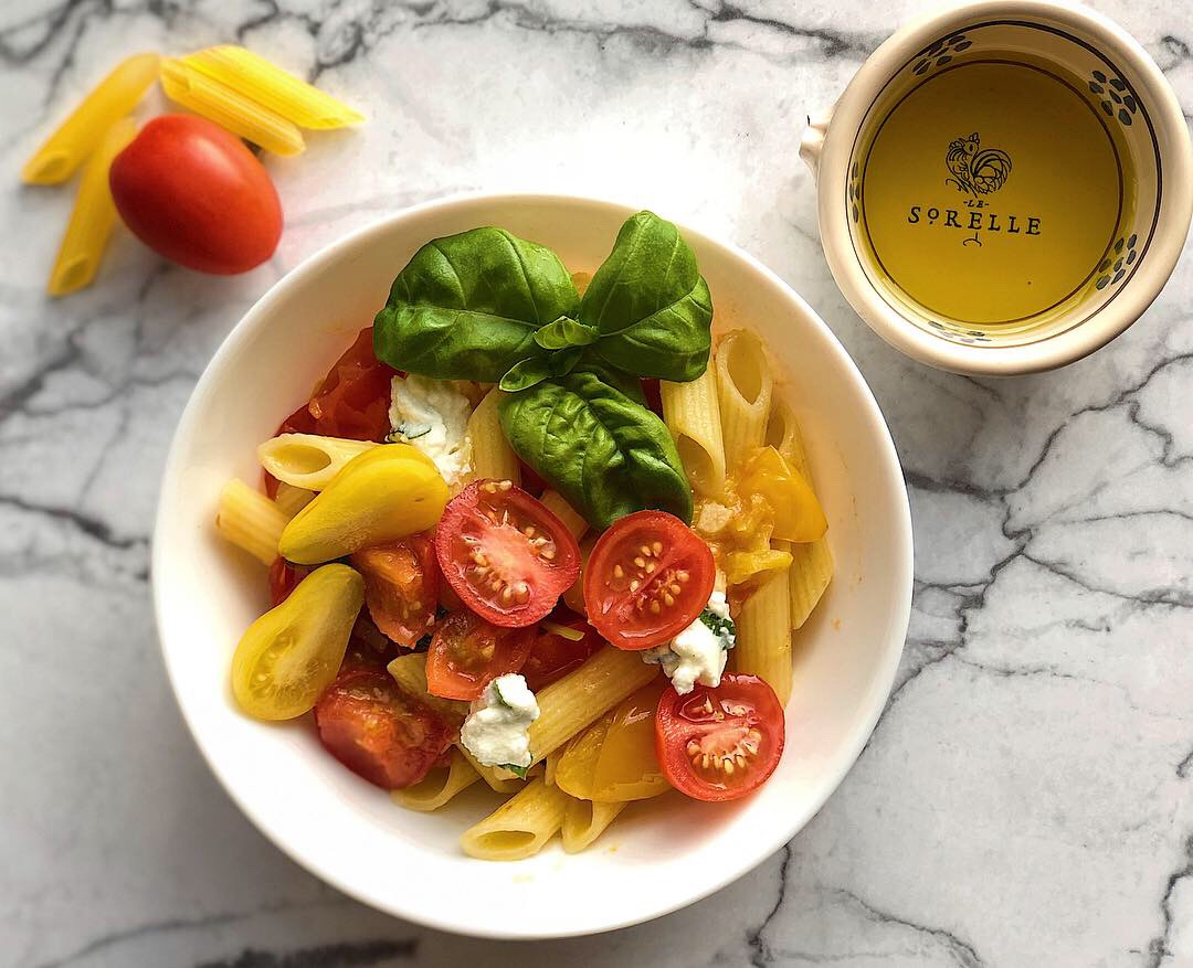 Penne Tomatoes and Ricotta.JPG