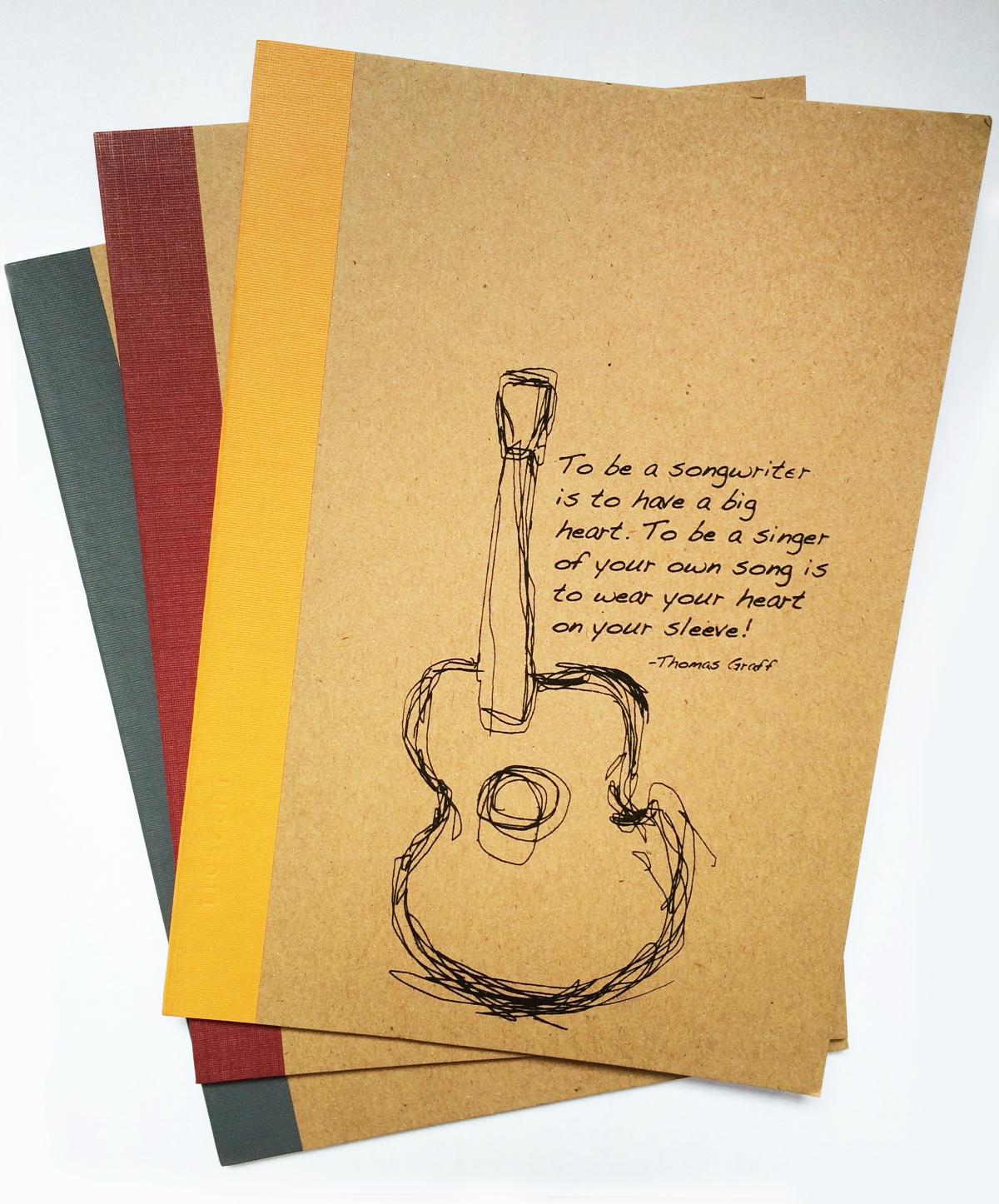 DESIGN 2: Vivid Guitar with Quote
