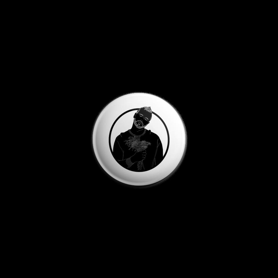 "Thomas Graff ""Make It Easy"" Black Silhouette Button by RoMillion $4"