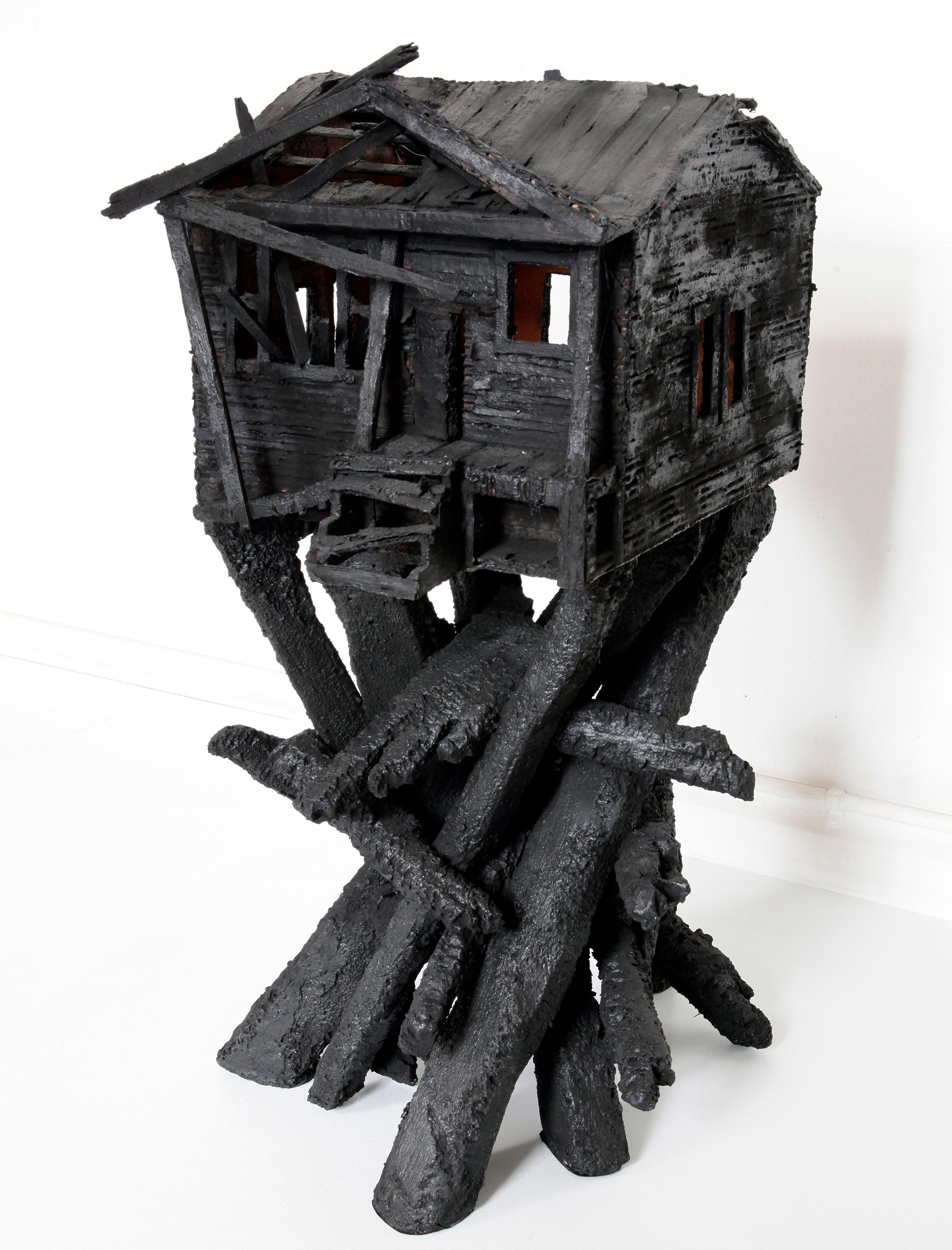 """Burned House"""