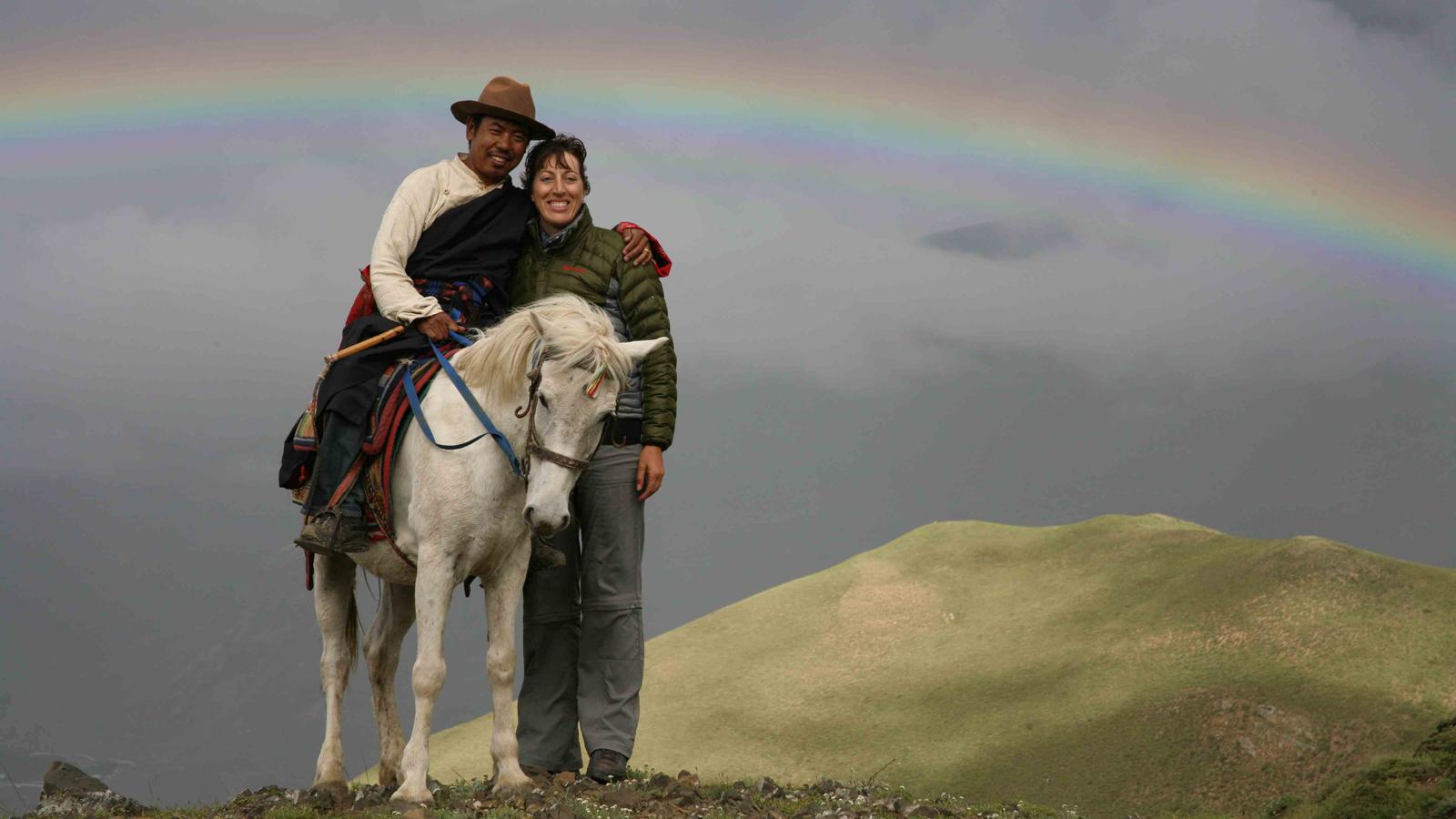A fine horseman of Mustang Nepal