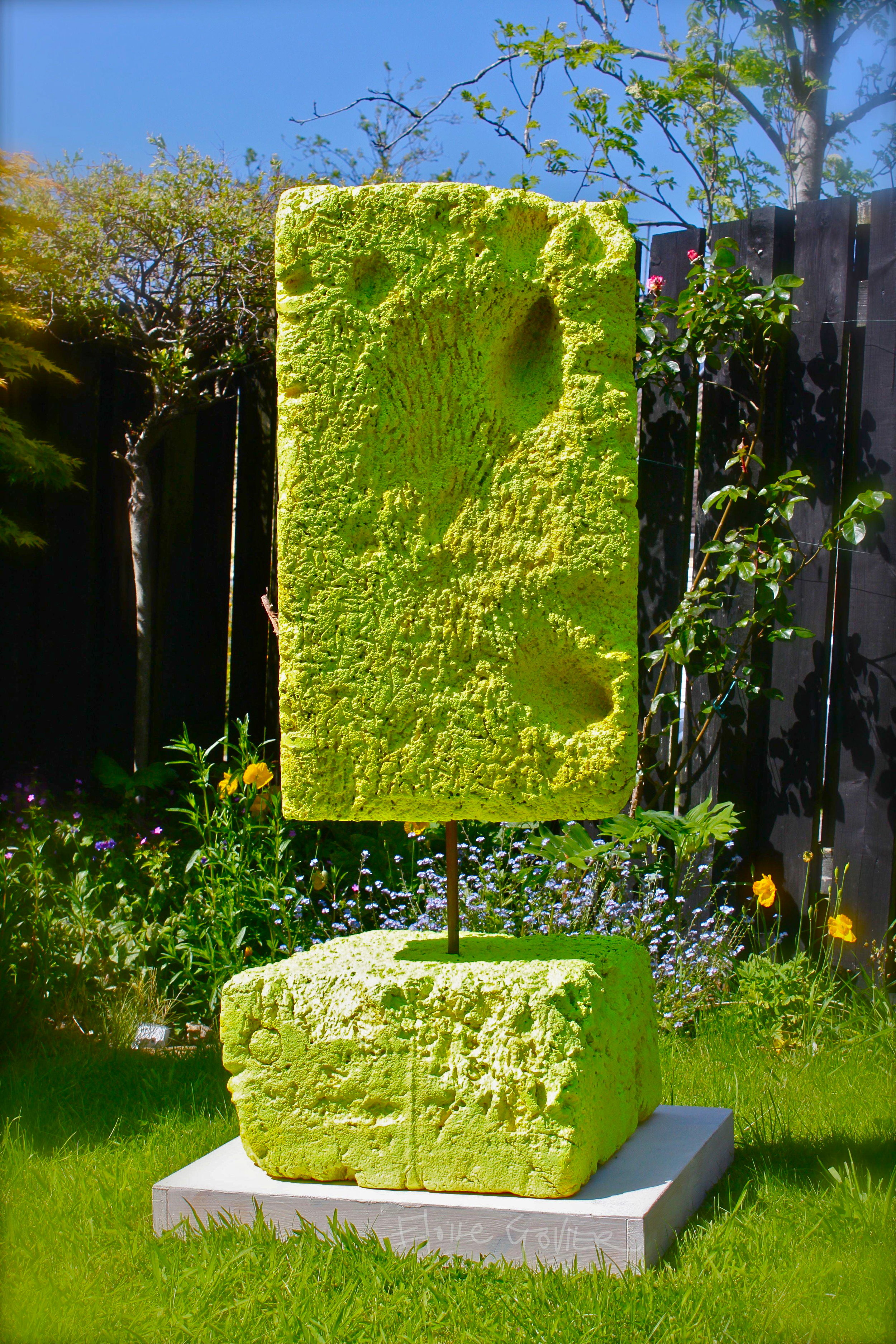 Trajectory Three - Sculpture'Trajectory Three' (Govier, 2015) was made from found polystyrene (riverine/marine litter) retrieved from the River Avon tidal floodplain at Shirehampton, downstream from Bristol, by environmental historian Dr Jill Payne from 'The Power and the Water' Project.Govier reconfigured the polystyrene as a sculpture that marks the material's third 'trajectory' (from packaging to waste to art). At the Festival of Nature, Bristol, 'Trajectory Three' encouraged young people of school-age to think about the long-term place of non-biodegradable plastic litter and waste in the environment. Prompted by the piece,researchers asked:What will found objects like this suggest to future generations about today's society?Exhibited: Festival of Nature, Bristol 2015.13.6.15-14.6.15.