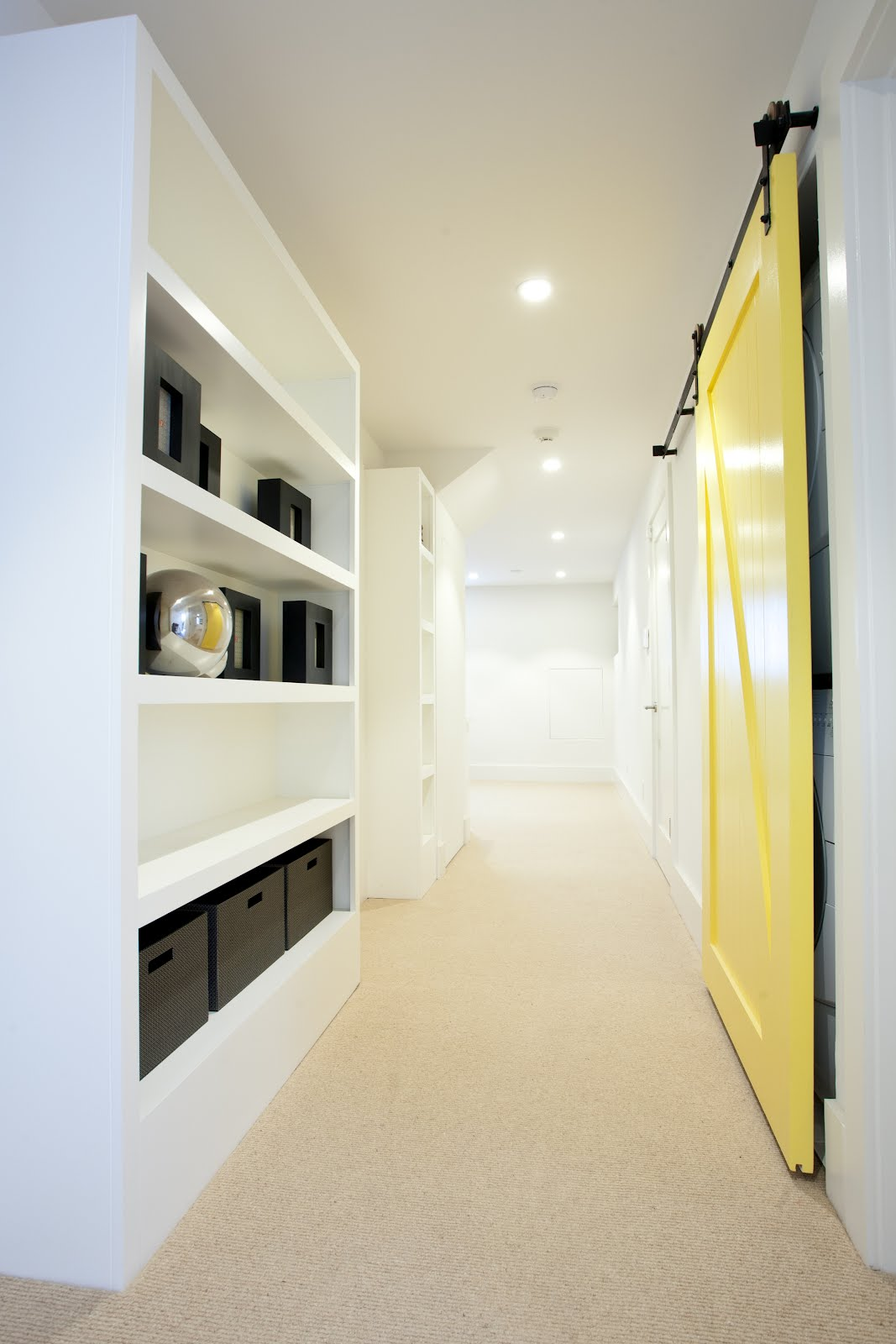 Remodeled Hall with storage