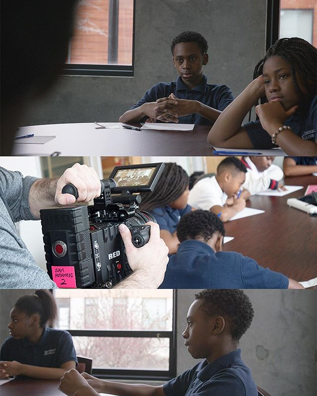 BTS from today's shoot and some stills from our footage #baltimore #cinematography #redepicdragon #canon