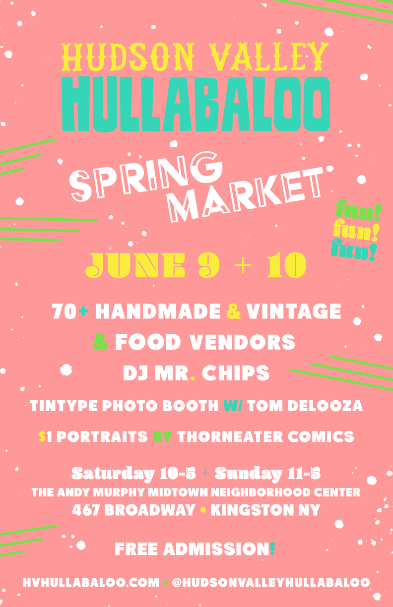You don't want to miss out! 70 amazing and diverse vendors, food, music, portraits... all the makings of a great shopping party.