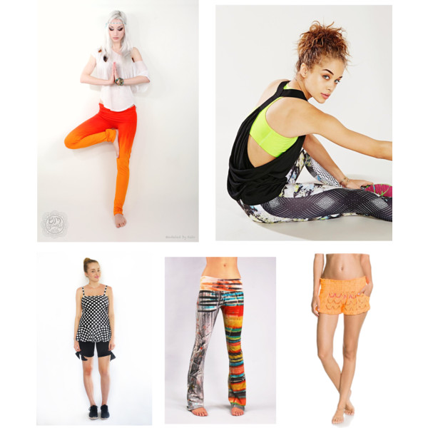 Yoga pants to wear on a retreat. Full details for all garments  here