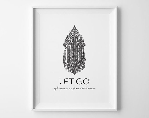 sweet peony press let it go print