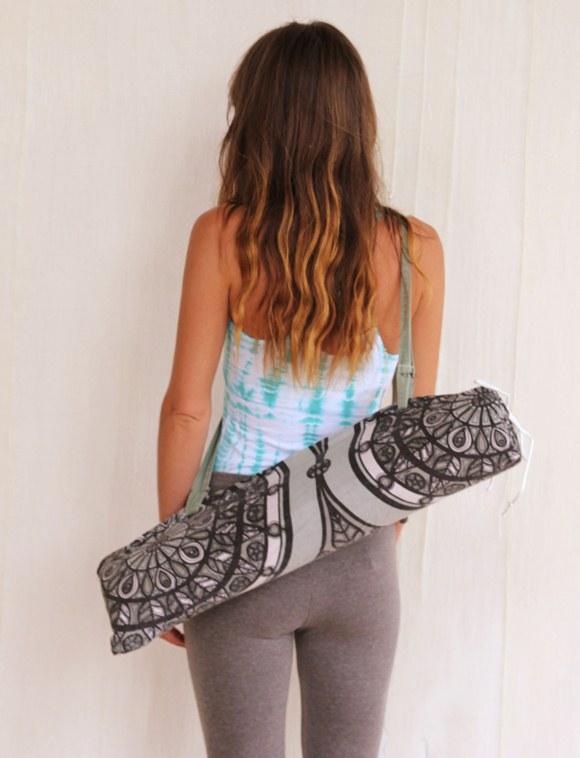 Free People DIY Yoga Mat Bag