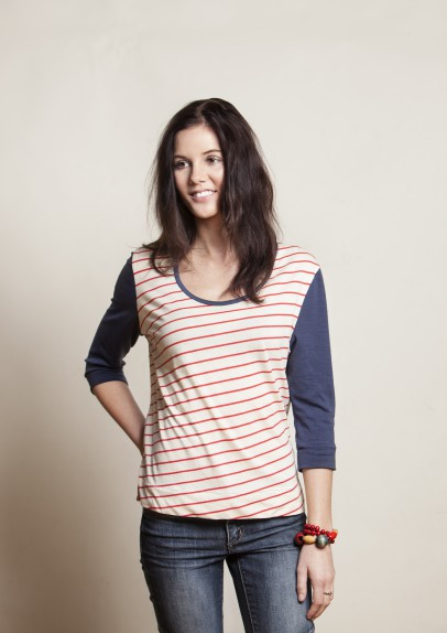 Peppermint Magazine box-cut tee. Perfect for after yoga. Also perfect for restorative or yin yoga.