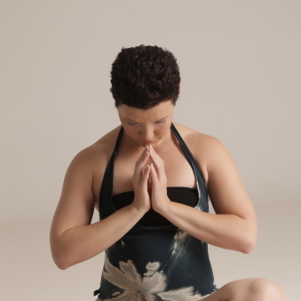Namaste. A surrender to the heart.