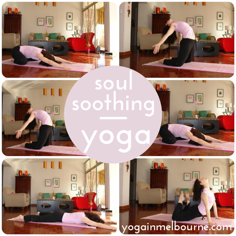 A soul soothing yoga sequence
