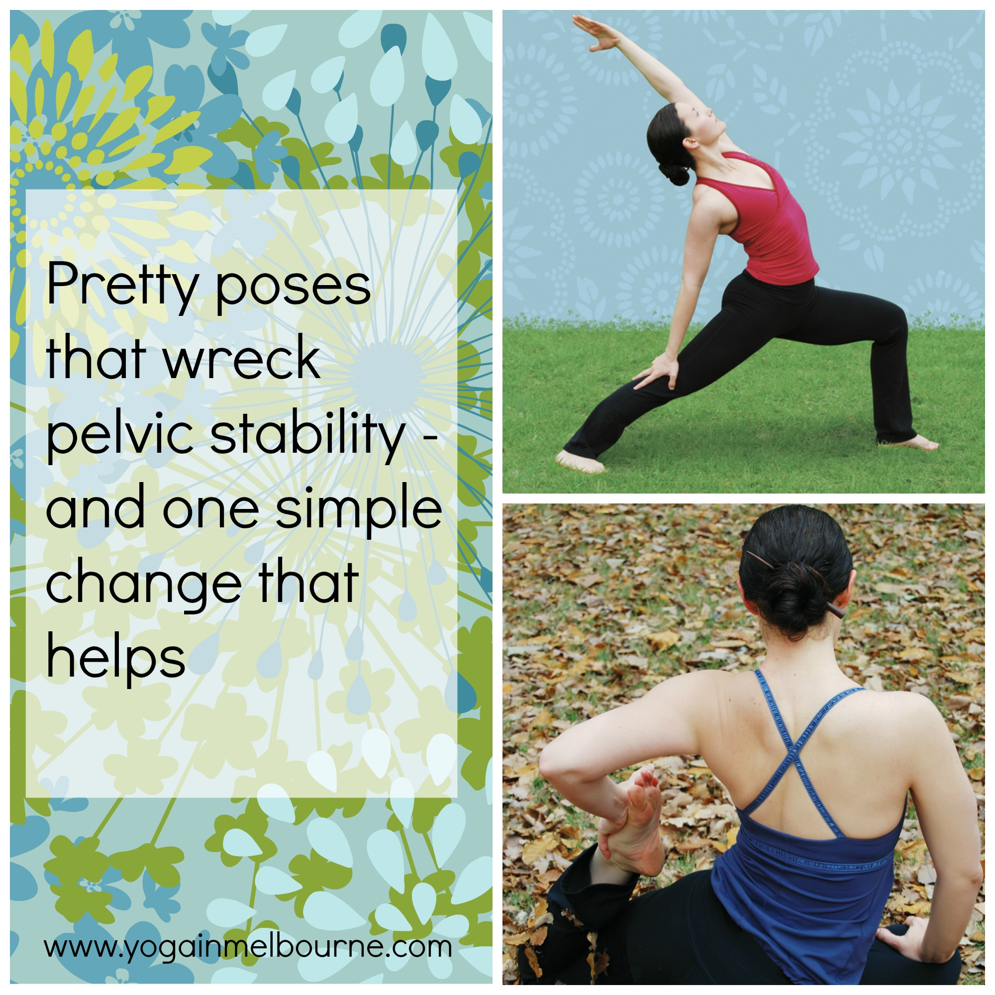 One simple way to stabilise your pelvis in yoga