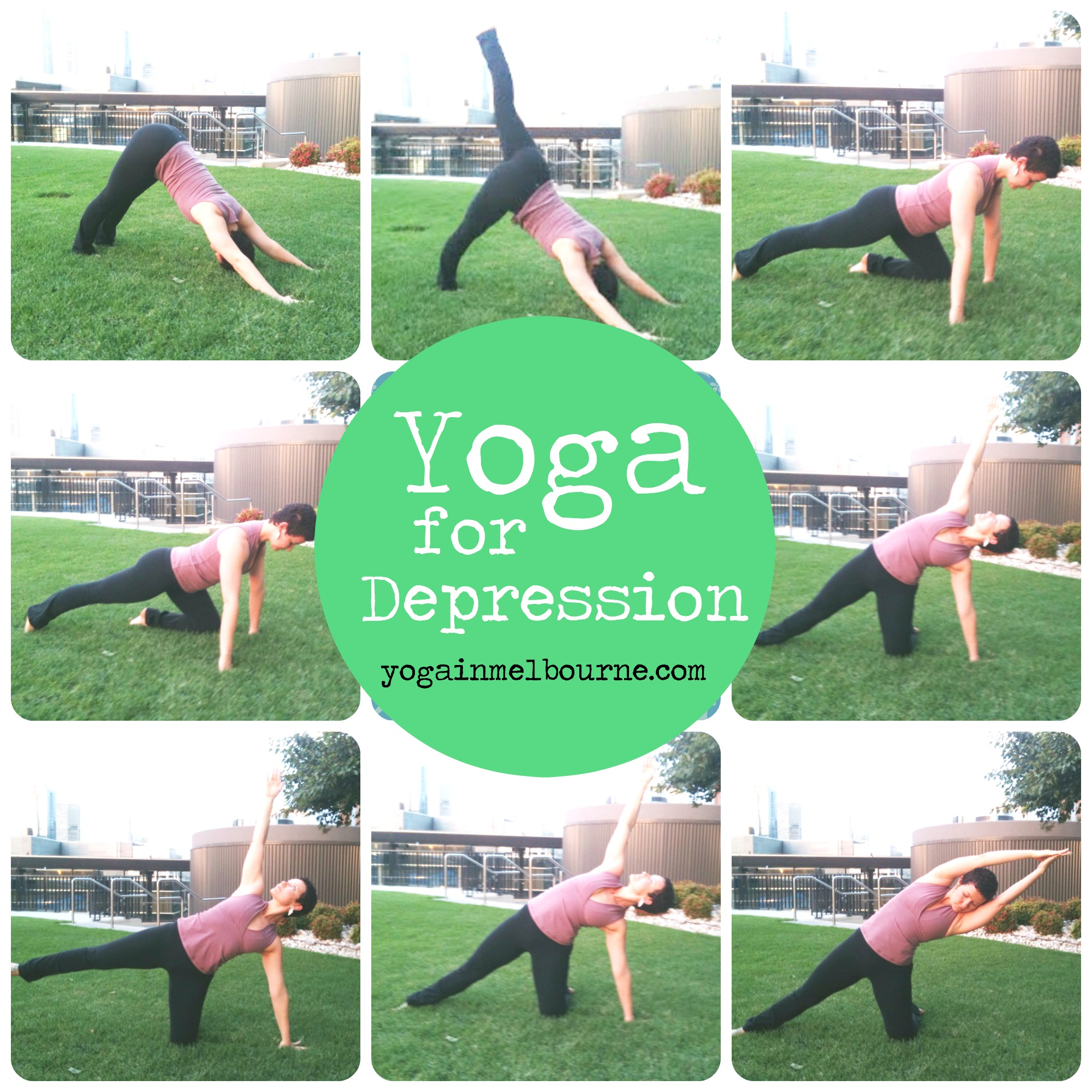 Yoga Sequence to Ease Depression