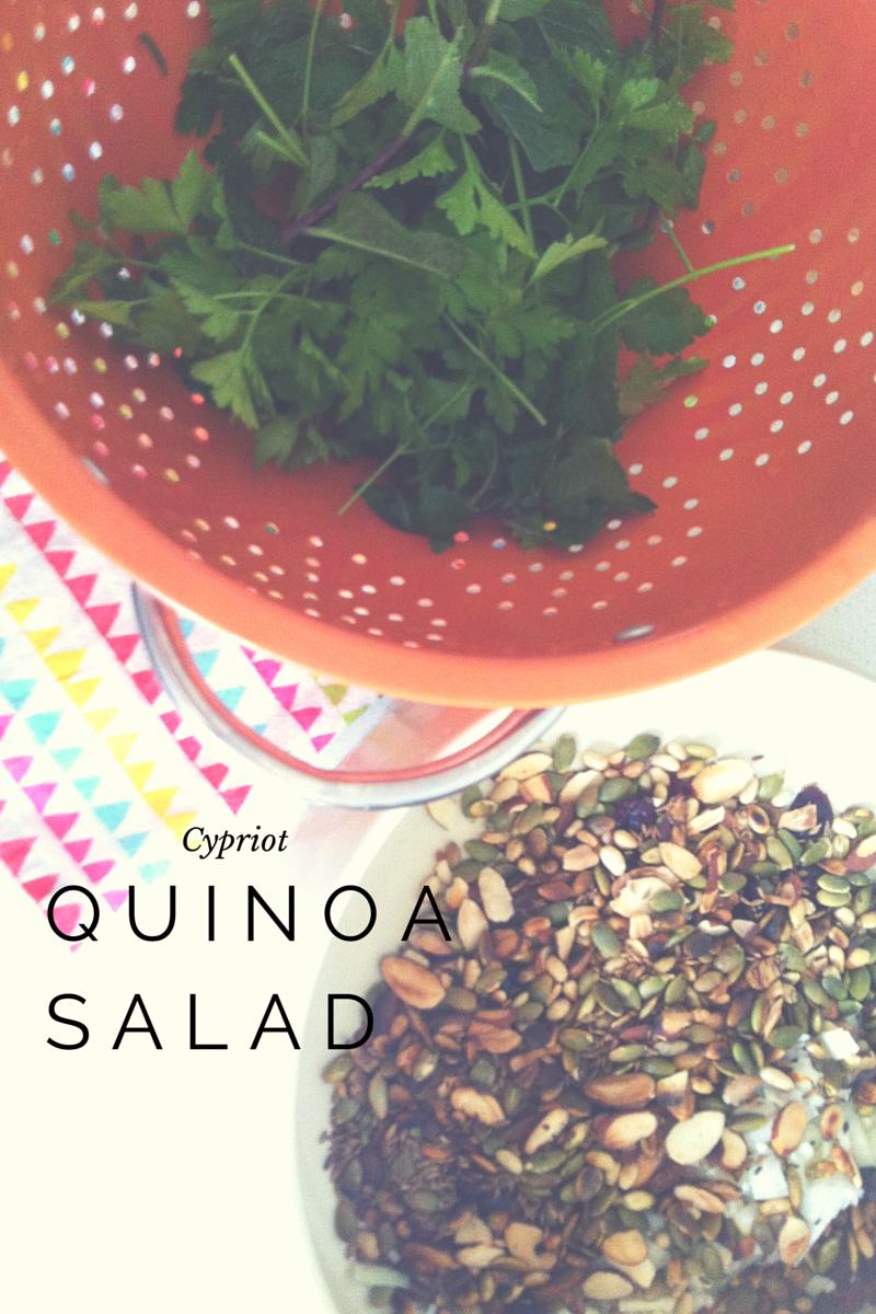 Cypriot Quinoa Salad