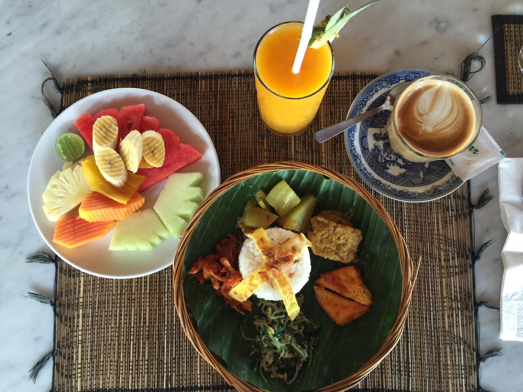 casa luna bali breakfast