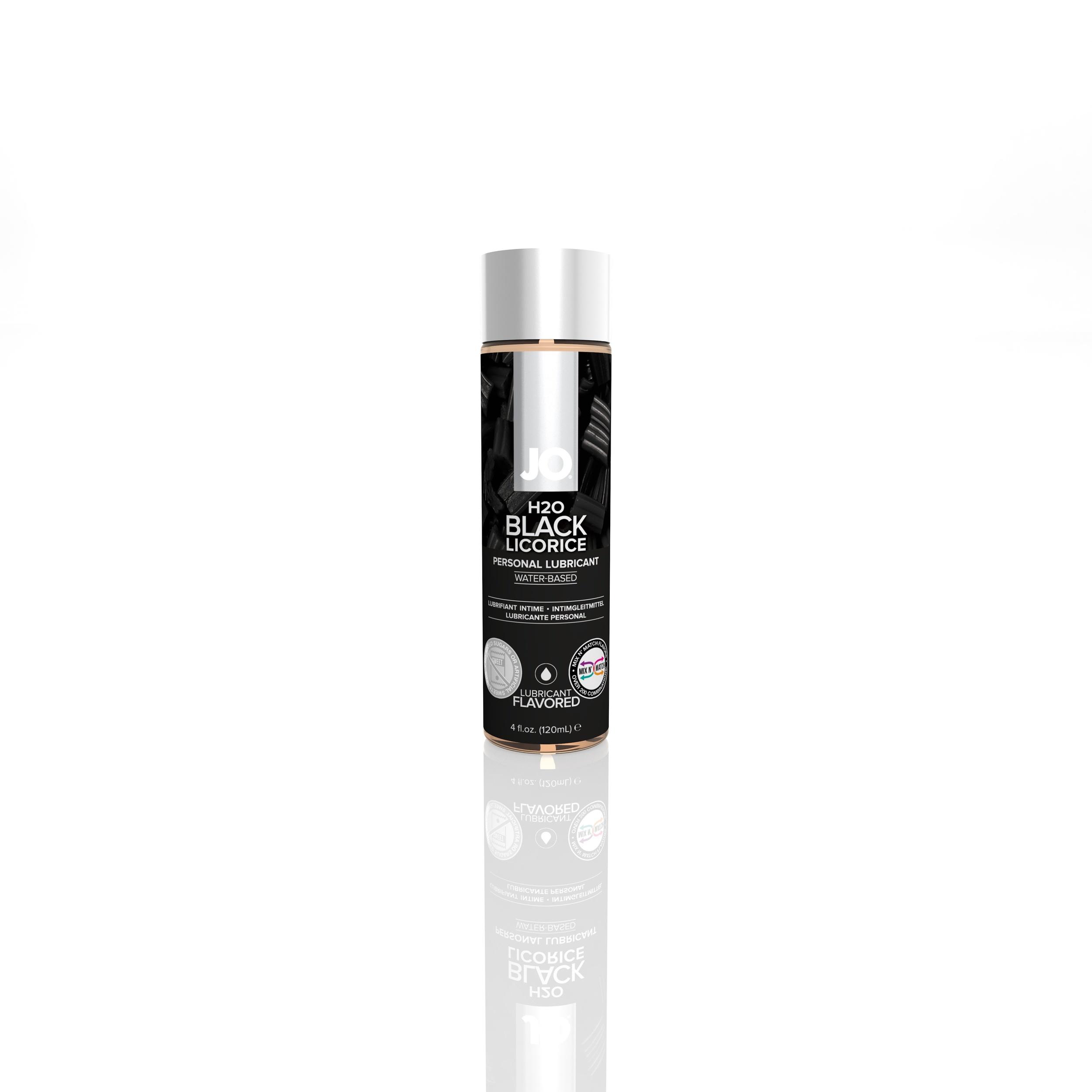 40160 - JO H2O FLAVORED LUBRICANT - BLACK LICORICE - 4fl001.jpg