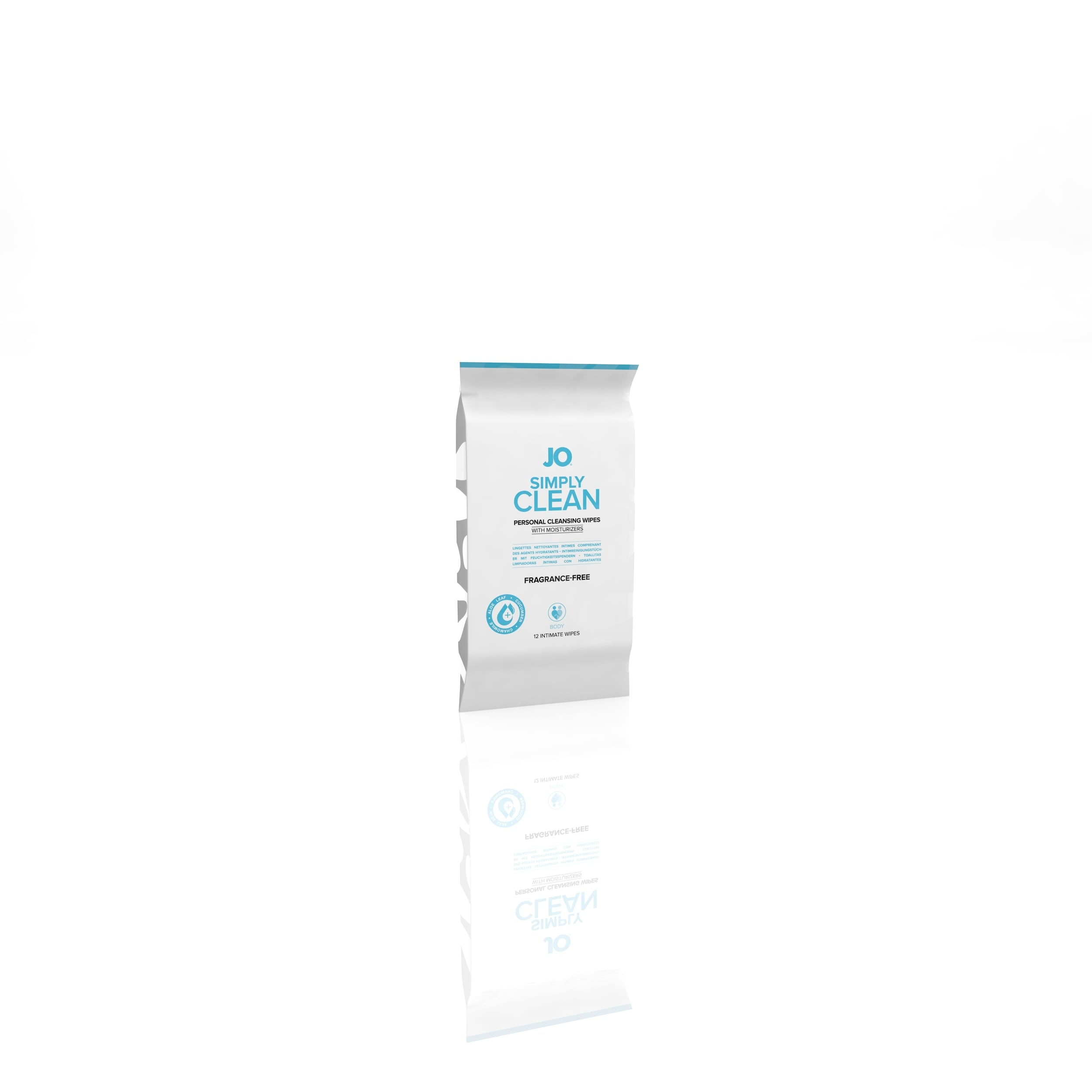 10222 - JO PERSONAL CLEANSING WIPES - SIMPLY CLEAN - 12 pack  (MOQ 12 units - Includes Counter Display) ISO.jpg