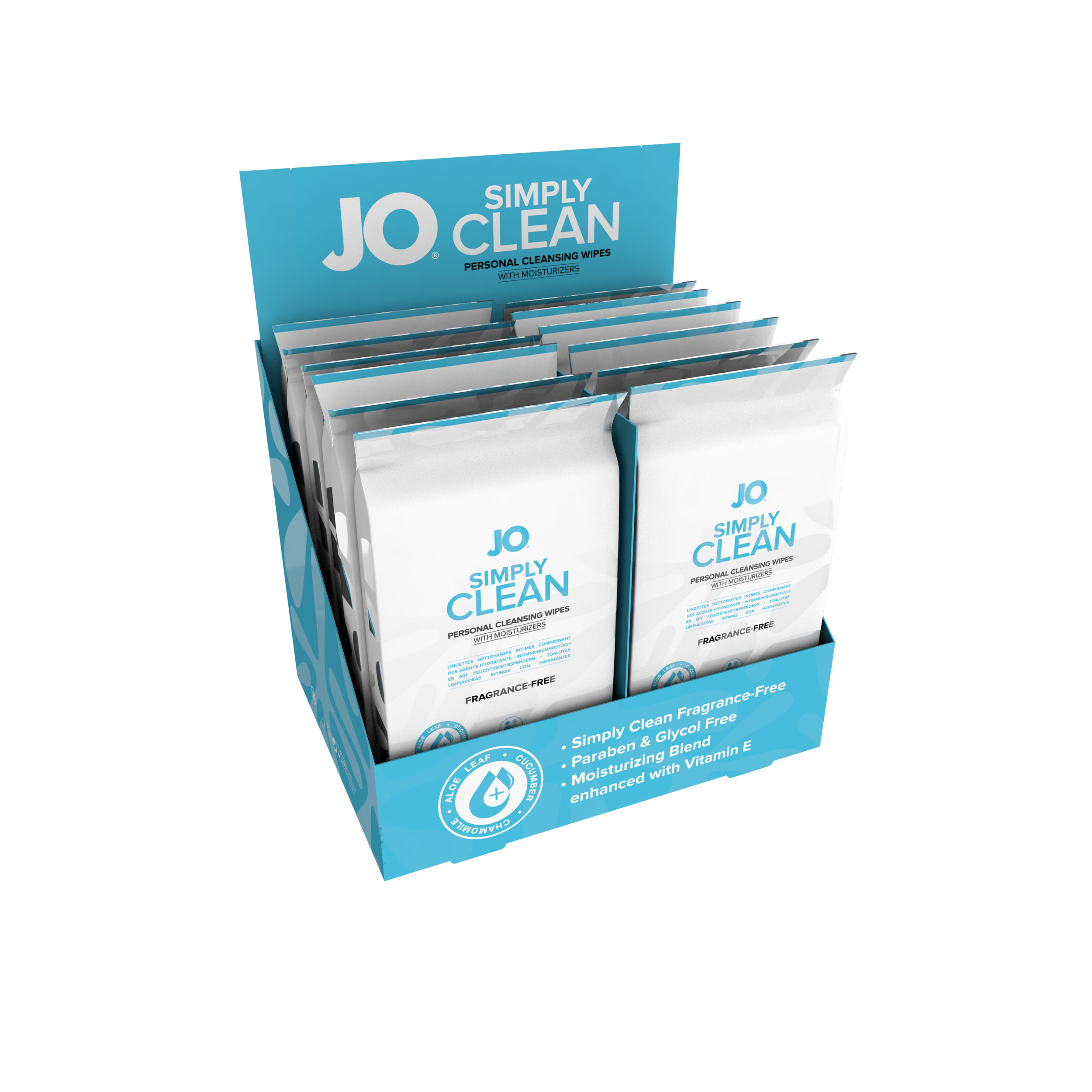 10222 - JO PERSONAL CLEANSING WIPES - SIMPLY CLEAN - 12 pack  (MOQ 12 units - Includes Counter Display) .png