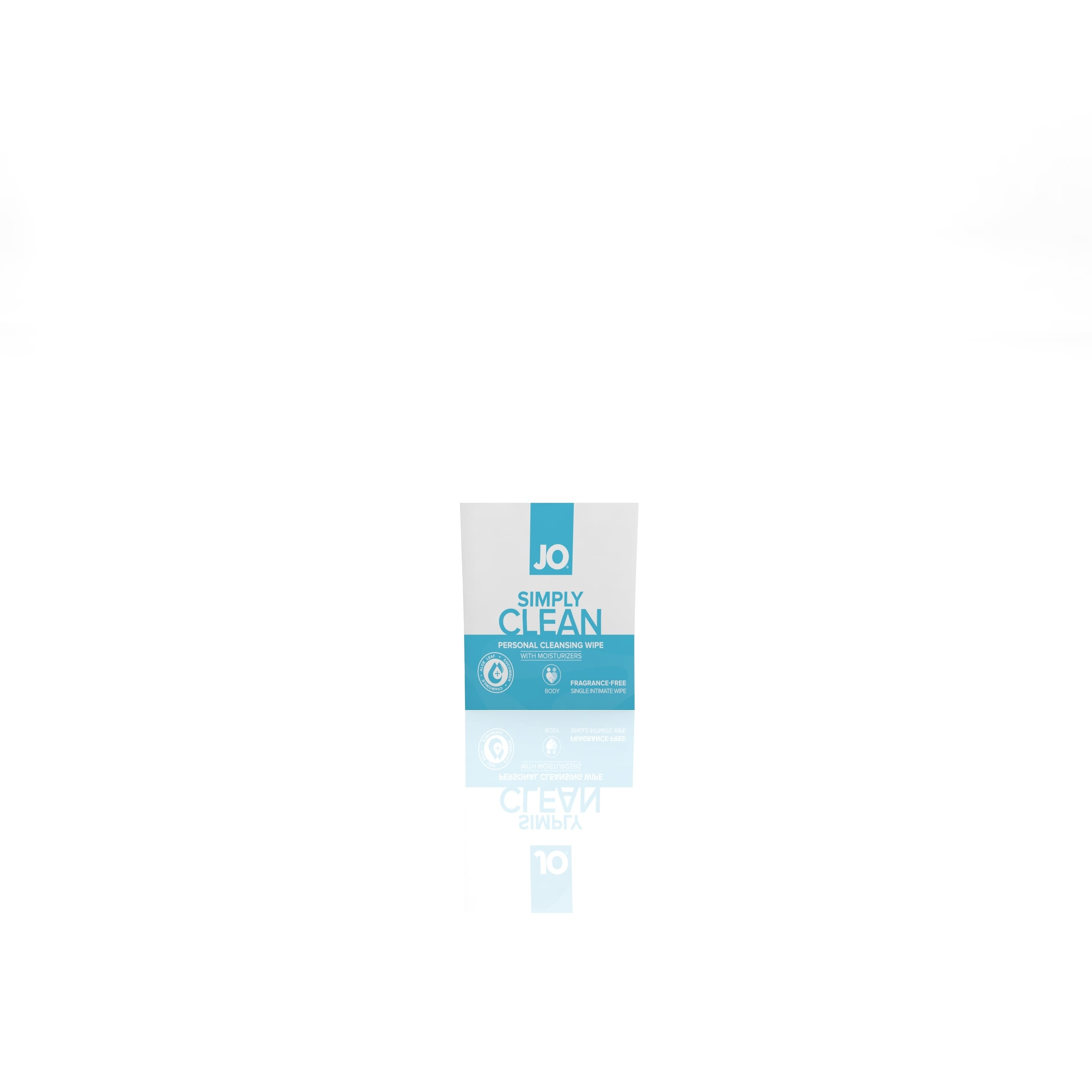 10220 - JO PERSONAL CLEANSING WIPES - SIMPLY CLEAN - single pack  (MOQ 24 units - Includes Counter Display) ISO.jpg