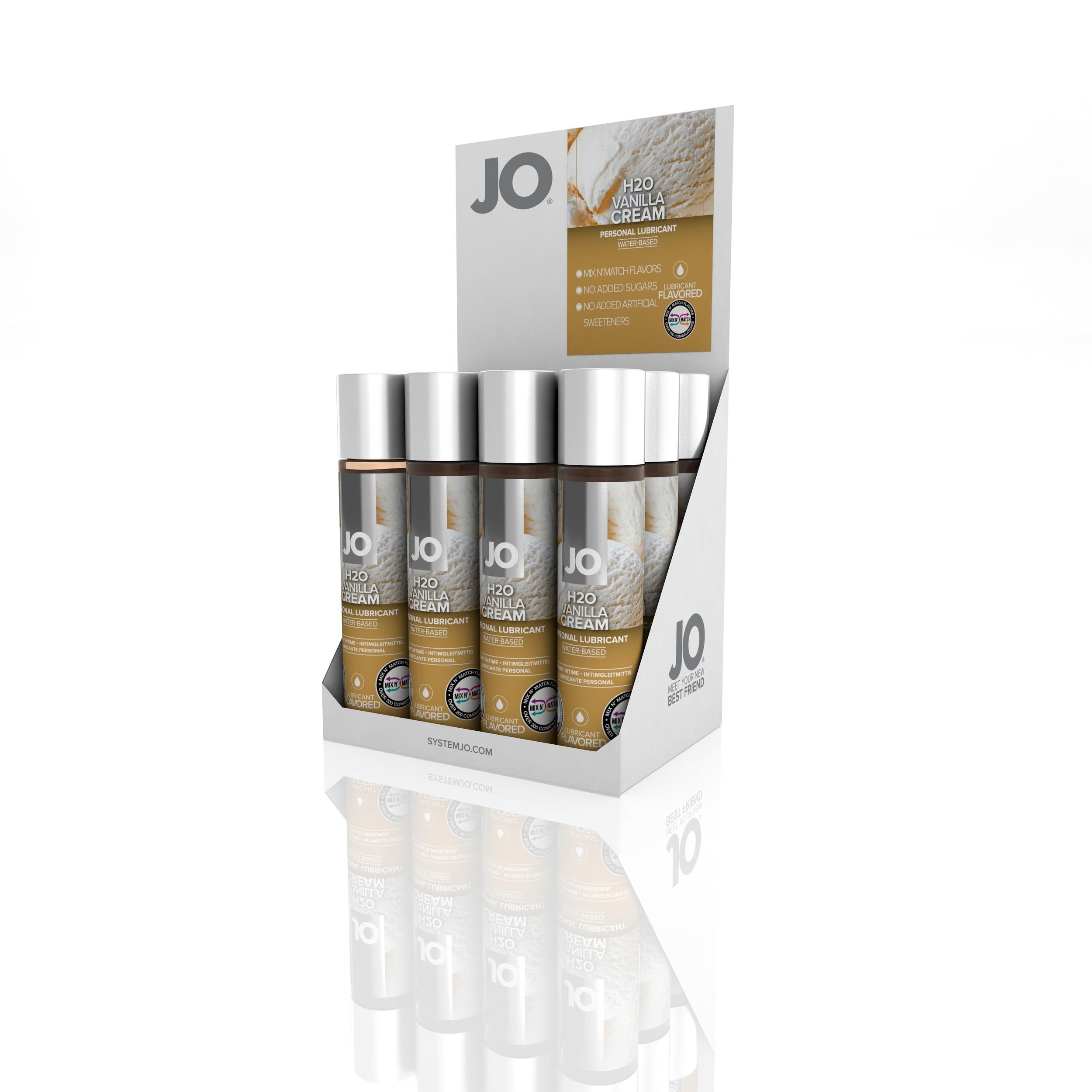 10384 - JO H2O FLAVORED LUBRICANT - VANILLA - 1fl.oz 30mL (MOQ 12 units - Includes Counter Display).jpg