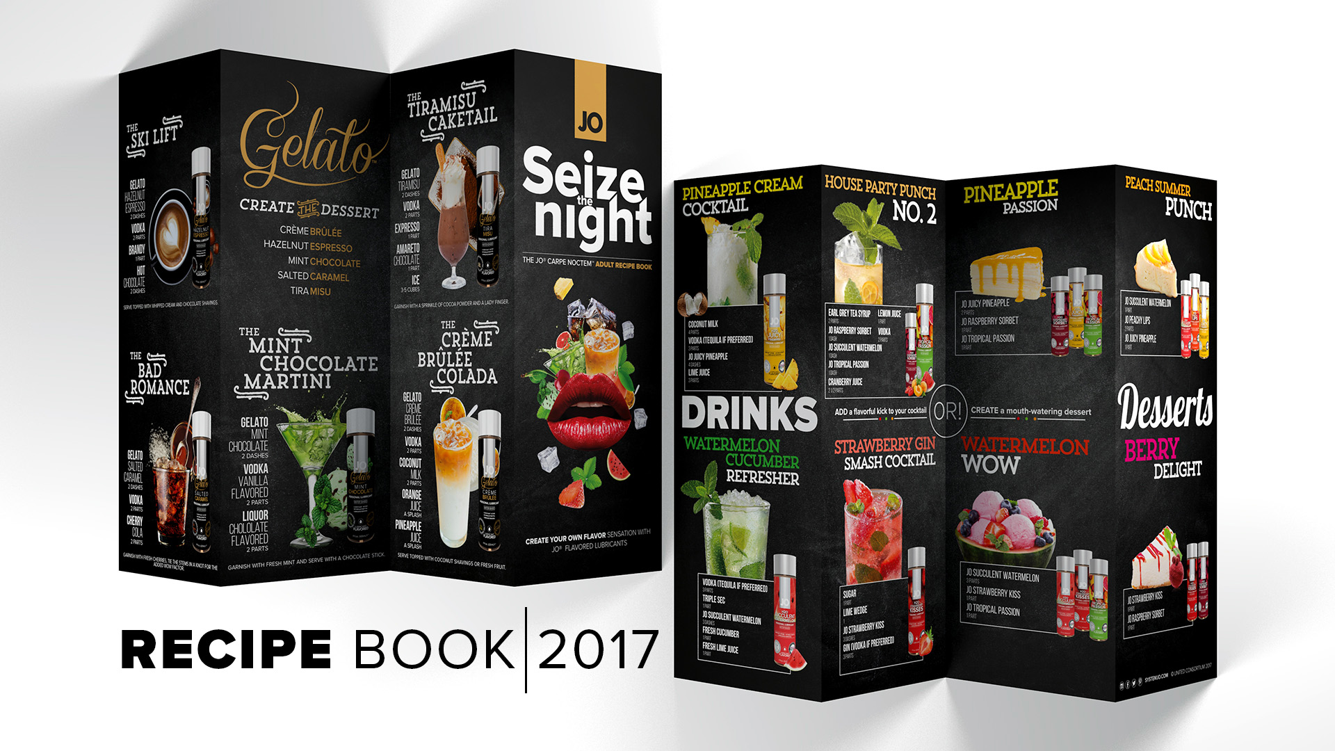 Seize the Night - Adult Recipe Book Available for Download