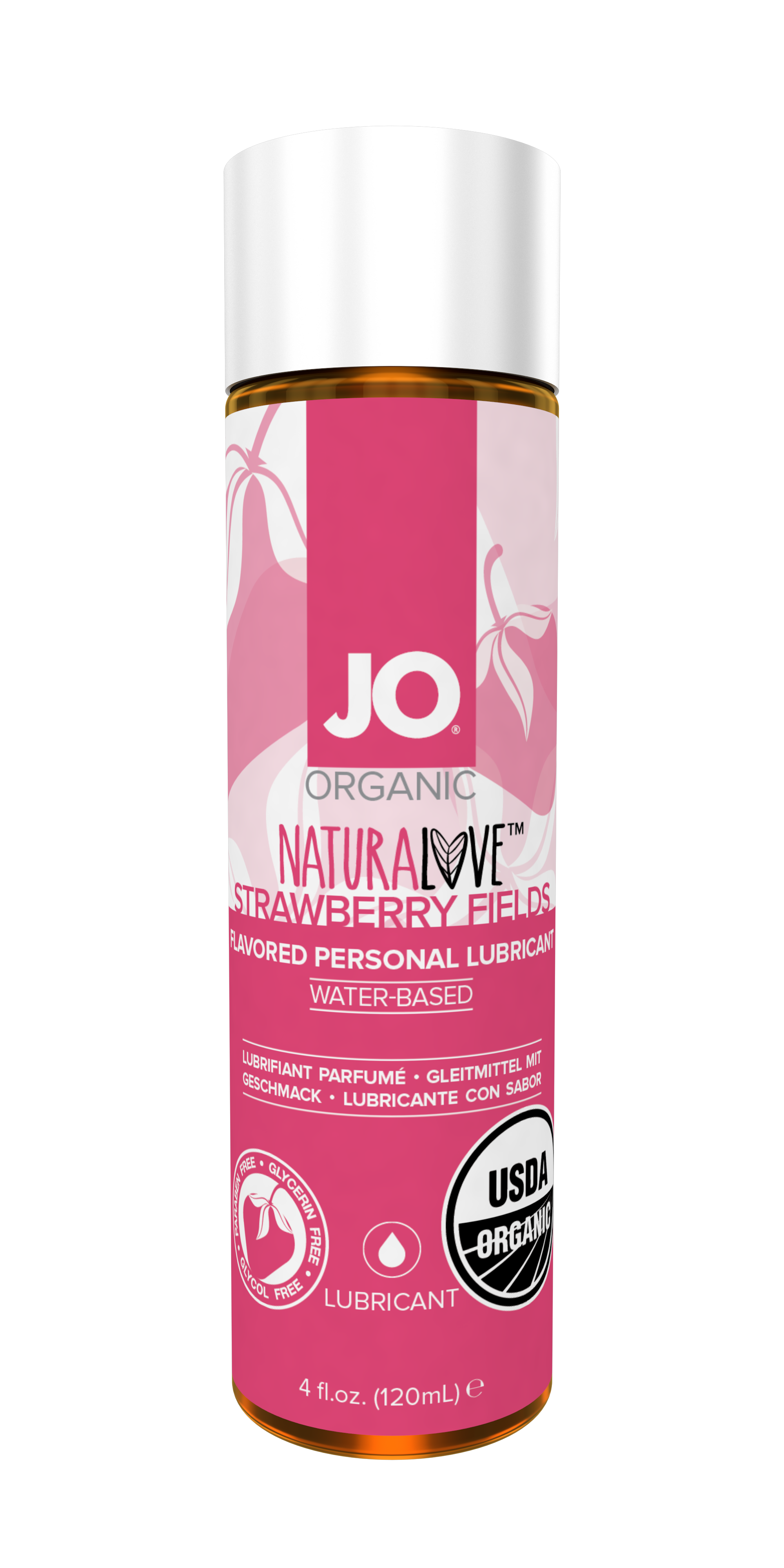 44002 JO USDA ORGANIC - STRAWBERRY - LUBRICANT (WATER-BASED) 4 floz 120 mL.png