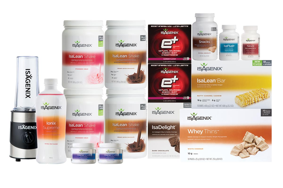 Premium Pak - 2nd Best - Covers you for full month of superfood smoothies, intermittent fasting and snacks and adaptogen Ionix mix.Price: AU$ 721.13 GST: $72.11 $793.24PLUS 1:1 coaching for your first month, access to private facebook community, meal ideas, exercise tips, 25% off products for a year. Valued @ $299Total = $1,092.24Special Offer Buy Now and receive products AND coaching forTotal:$562.10