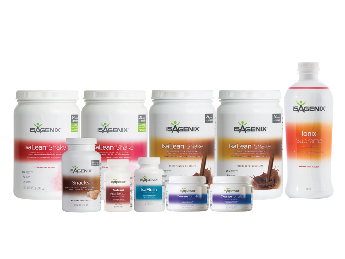 Basic 30 Day System - 3rd Best - Basic program covering you with superfood smoothies, cleansing system and adaptogen Ionix mix.Price:$504.16PLUS 1:1 coaching for your first month, access to private facebook community, meal ideas, exercise tips, 25% off products for a year. Valued @ $299Total = $803.16Special Offer Buy Now and receive products AND coaching forTotal:$358.62