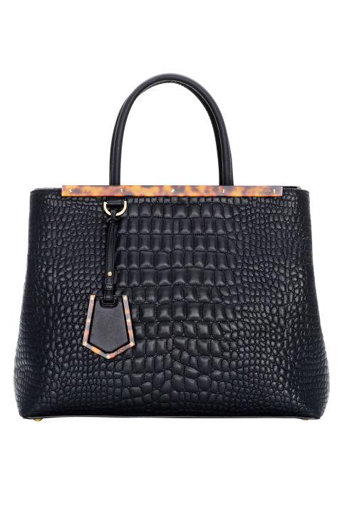 Fendi bag, $2,750, similar styles available at  shopBAZAAR.com .  COURTESY FENDI