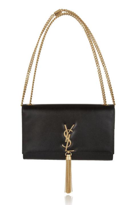 Saint Laurent bag, $1,890, net-a-porter.com .  COURTESY NET-A-PORTER