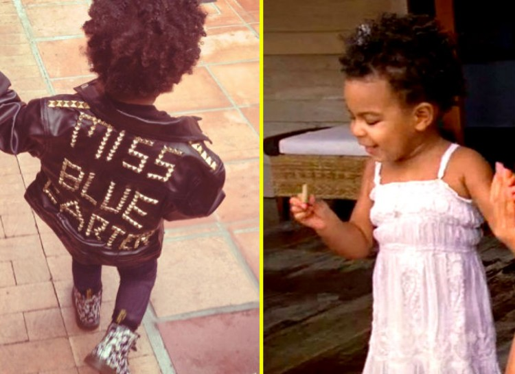 BLUE IVY CARTER  The daughter of Jay Z and Beyonce is already becoming a fashion icon which we all expected of her. With her bedazzled sneakers and graphic tees, a lot of people question whether she outshines her parent's fashion sense. She even has a great jacket with her name studded on it for the world to love.