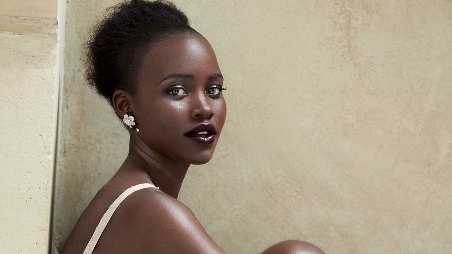 """Lupita Nyong'o  is gearing up for her biggest role of the year in what will probably be the biggest film of the year, """"Star Wars: The Force Awakens."""" Before it hits theaters in December, though, she's keeping herself busy by landing her   second cover  of   Vogue  . NBD."""