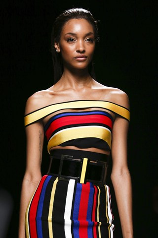 Tight And Bright   Balmain Like Hervé Léger, Azzedine Alaïa and Gianni Versace before him, Rousteing is part of a canon of designers who celebrate and elevate powerful, sexy women. Colour is nothing to be ashamed of, and neither are styles that showcase the female form in all its glory. We'll take one in every colour.