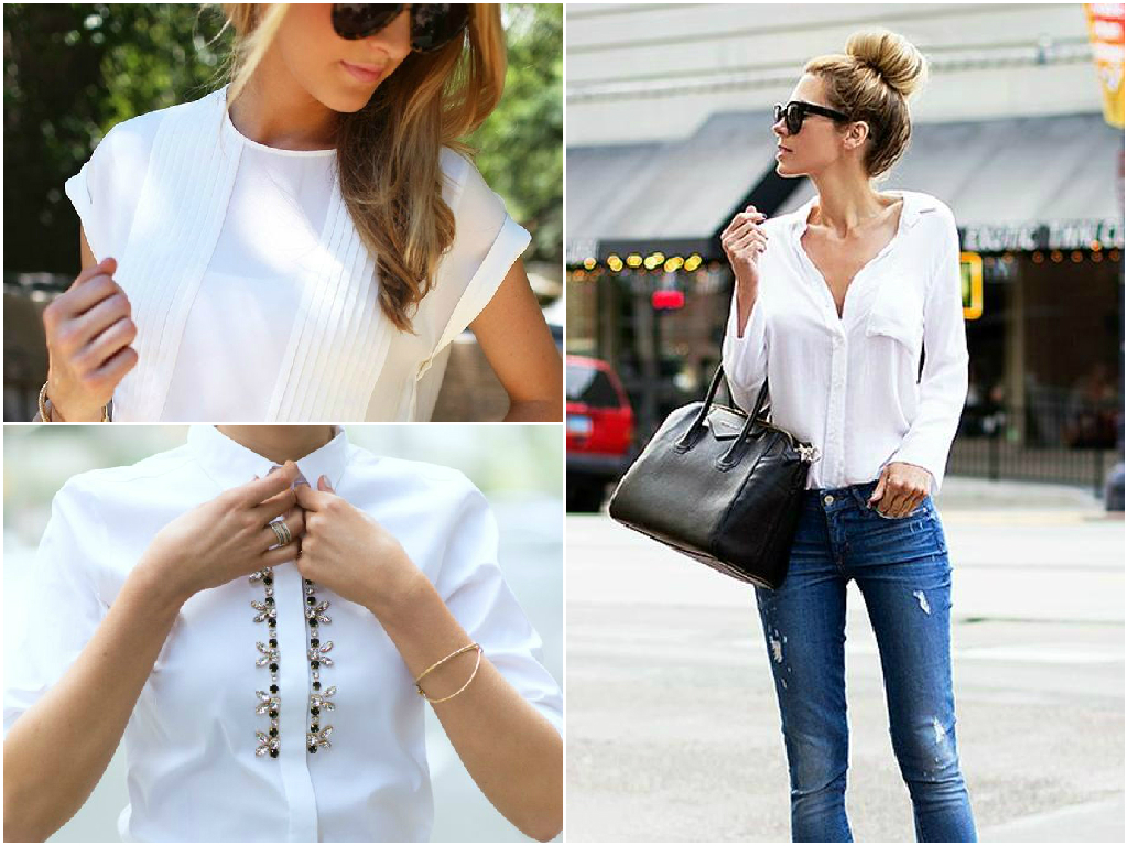 Shirts were first designed for men, but later women also started wearing them. A white shirt or blouse is a must-have in your closet. You can wear this item to the office, business meetings, and for casual times too. You will look stylish and sophisticated.