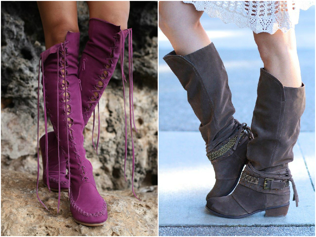 If you're a shoe-obsessed person, you will agree that a pair of high-top boots is a must-have. High-top boots make us feel confident and stylish. They are guaranteed to look stunning with almost any clothes.